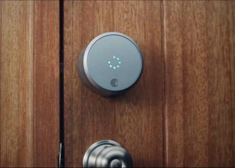 August Smart Lock Low Battery Warning Signals