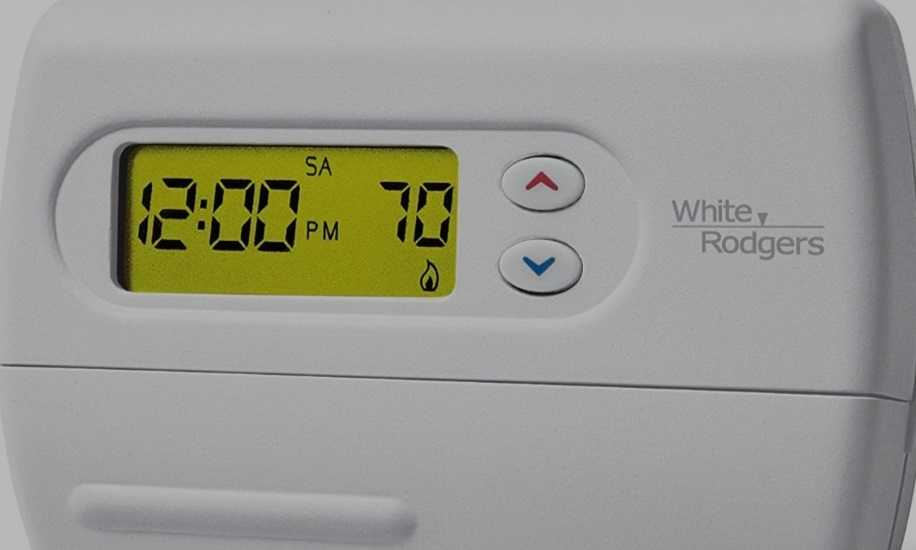 White Rodgers Thermostat Not Responding