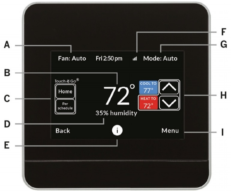 Resetting a Carrier Cor Thermostat