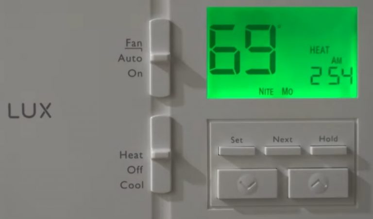LuxPRO Thermostat Won't Change Temperature? (Solved!)