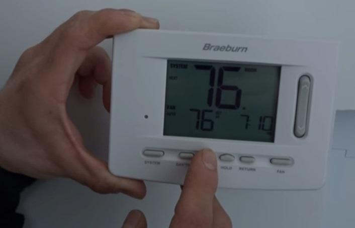 Braeburn Thermostat Screen Blank? (Solved!)