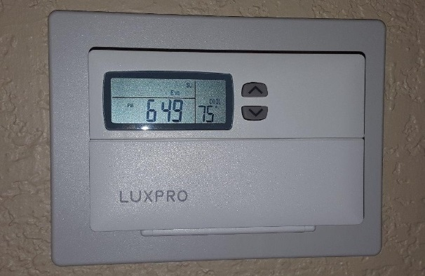 LuxPRO Thermostat Says Low Battery with New Batteries? (Solved)