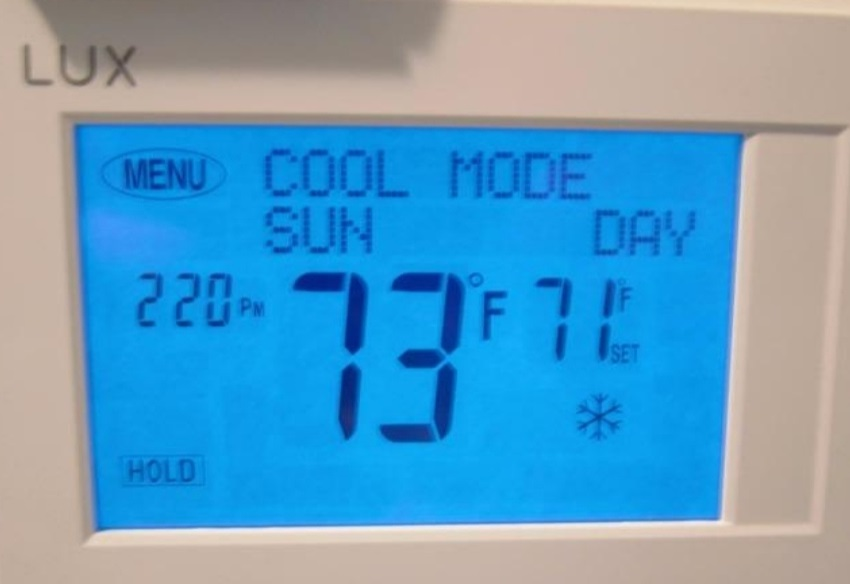 Password Protected Thermostat